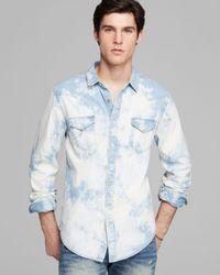 PRPS | Blue Denim Sport Shirt Regular Fit for Men | Lyst
