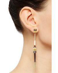 Daniela Villegas - Multicolor One Of A Kind Husos & Piruros Earrings - Lyst