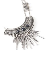 Forever 21 | Gray -inspired Bib Necklace | Lyst