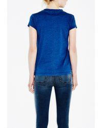 M.i.h Jeans - Blue Range Tee - Lyst