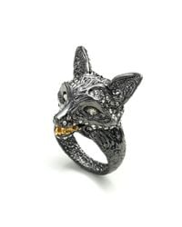 Alexis Bittar | Metallic Dark Phoenix Crystal Encrusted Fox Ring You Might Also Like | Lyst