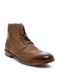 Steve Madden | Brown Lanter Oxford Boots for Men | Lyst