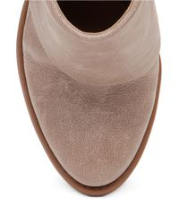 Jessica Simpson | Natural Calvey Leather Ankle Boots | Lyst