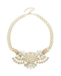 Catherine Stein | Metallic Fan Cluster Statment Necklace | Lyst