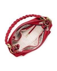 MICHAEL Michael Kors - Red Naomi Large Twist-strap Tote Bag - Lyst