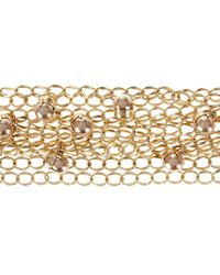 Hobbs - Metallic Amelie Bracelet - Lyst