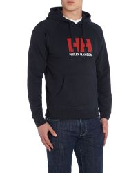 Helly Hansen | Blue Hh Graphic Crew Neck Hoodie for Men | Lyst