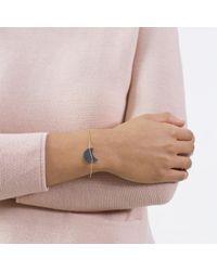 Dutch Basics - Metallic Half Moon Bracelet - Lyst