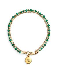 Astley Clarke - Green 'biography' Beaded Bracelet - Lyst