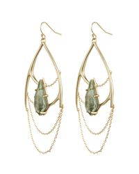 Alexis Bittar - Metallic Kinetic Gold Draping Chain Earring You Might Also Like - Lyst