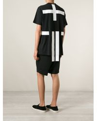 Givenchy - Black Applique Detail T-Shirt for Men - Lyst