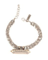 Vanessa Mooney - Metallic Trinket Of Secrets Bracelet - Lyst