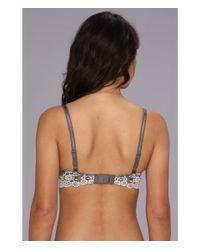 Wacoal - Gray Embrace Lace Contour Bra - Lyst