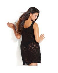 Hanky Panky | Black Plus Size Signature Lace Chemise 485214x | Lyst