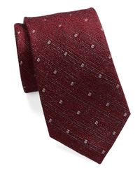 William Rast | Purple Diamond Dot Tie for Men | Lyst