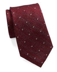 William Rast - Purple Diamond Dot Tie for Men - Lyst