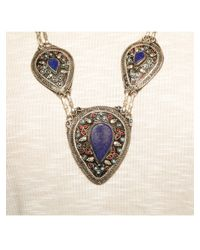 Natalie B. Jewelry | Blue Natalie B. The Lady Lazuli Necklace In Silver | Lyst