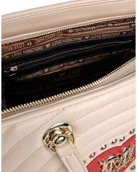 Love Moschino | Natural Medium Fabric Bag | Lyst