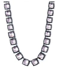 Larkspur & Hawk - Short Light Pink Quartz Bella Graduated Riviere Necklace - Lyst