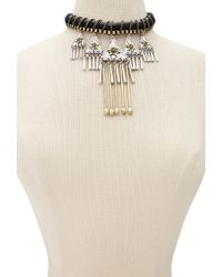 Forever 21   Metallic Southwestern-inspired Statement Necklace   Lyst