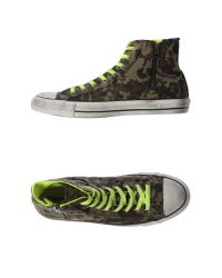 Converse - Green High-tops & Trainers for Men - Lyst