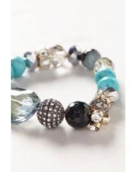 Anthropologie - Blue Lindy Hop Bracelet - Lyst
