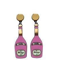 Yazbukey - Pink Champagne Earring - Lyst