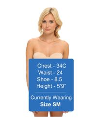 Tc Fine Intimates | Natural Strapless Bodybriefer 4030 | Lyst