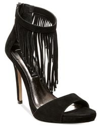 Steven by Steve Madden | Black Rahrah Dress Sandals | Lyst