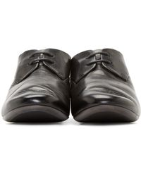 Marsèll - Black Leather Oxford Shoes for Men - Lyst