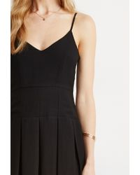 Forever 21 | Black Box Pleat Cami Dress | Lyst