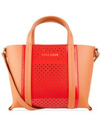 Cole Haan | Red Everett Small Tote | Lyst