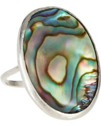 Suzannah Wainhouse Jewelry | Blue Abalone Silver Ring | Lyst