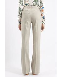 TOPSHOP - Natural Inverness Melton Wool Pants By Unique - Lyst