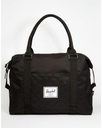 Herschel Supply Co. | Black Strand Quilted Carryall 18l for Men | Lyst