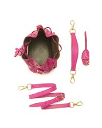 Ralph Lauren | Pink Small Ricky Drawstring Bag | Lyst