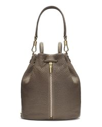 Elizabeth and James | Brown 'cynnie' Leather Sling Backpack | Lyst