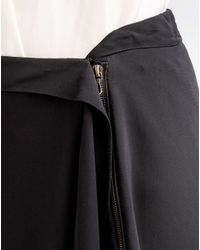 Lanvin | Black Skirt | Lyst