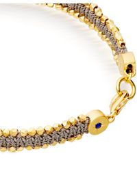 Astley Clarke - Metallic Grey Forever Changed Nugget Bracelet for Men - Lyst