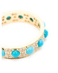 Irene Neuwirth | Blue Turquoise And Diamond Ring | Lyst