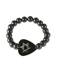 Electric Picks - Black 'free Fallin' Bracelet - Lyst