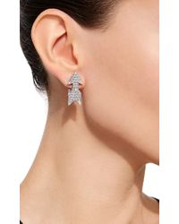 David Webb - Metallic Arrow Earrings - Lyst