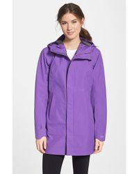Arc'teryx - Purple 'codetta' Waterproof Relaxed Fit Gore-tex 3l Rain Jacket - Lyst