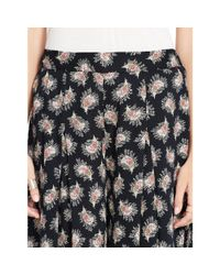 Denim & Supply Ralph Lauren - Multicolor Floral-print Culotte Pant - Lyst