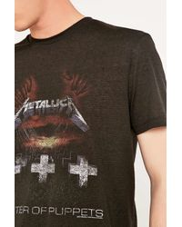 Urban Outfitters | Black Metallica Tee for Men | Lyst