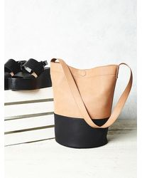 Free People - Brown Womens Victory Bucket Bag - Lyst