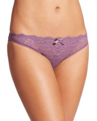 Chantelle | Purple Rive Gauche Panty | Lyst