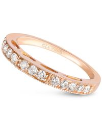 Le Vian | Pink Diamond Wedding Band (3/8 Ct. T.w.) In 14k Rose Gold | Lyst