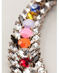 Shourouk - Multicolor 'piuma' Necklace - Lyst