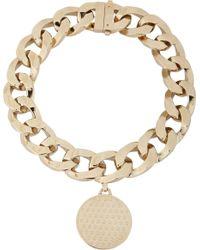 Givenchy - Metallic Medallion Pendant Choker - Lyst